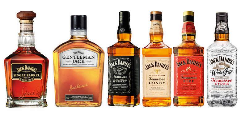 JACK PACK COLLECTION: Single Barrel + Gentleman + Old N7 + Honey + Fire + Winter