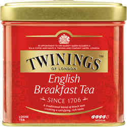 Té Twinings English Breakfast Lata 100 gramos