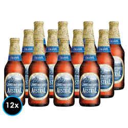 KIT AUSTRAL CALAFATE: 12x Cervezas Austral Calafate en Botella 330cc