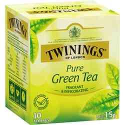 Té Twinings Pure Green Tea 10 Bolsitas