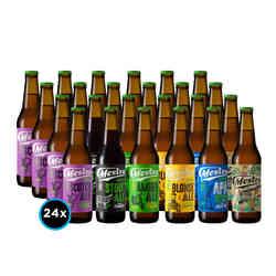 KIT CERVEZA MESTRA: 24x Cervezas de la Cervecería Mestra