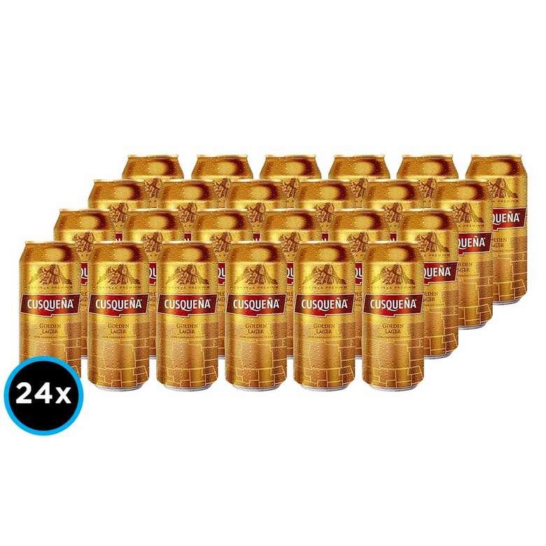 24x Cervezas Cusqueña Lata 473cc
