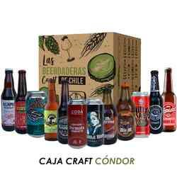 KIT Cervezas Craft Cóndor: 12x Cervezas Artesanales Chilenas