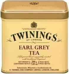 Té Twinings Earl Grey Lata 100 gramos
