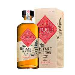 Gin Citadelle No Mistake Old Tom Dry Gin (22 Botánicos) 500cc 46°
