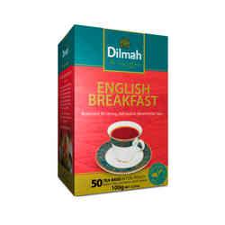 Té Dilmah Gourmet English Breakfast 50 teabags