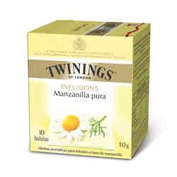 Té Twinings Manzanilla Pura 10 Bolsitas